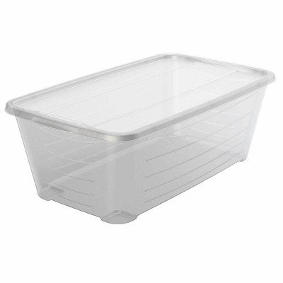 Life Story Rectangular Clear Plastic Protective Storage Shoe Box (24 Pack)
