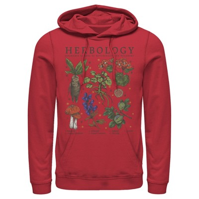 Men's Harry Potter Hogwarts Herbology Pull Over Hoodie