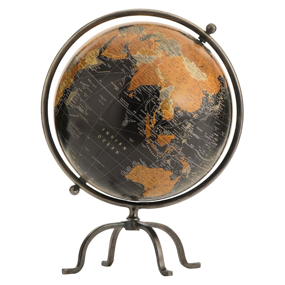 Image of Champlain Globe, Abrn, Geographic Globes