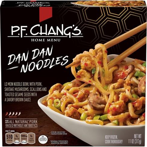 p f chang s pork dan dan frozen noodle bowl 11oz target