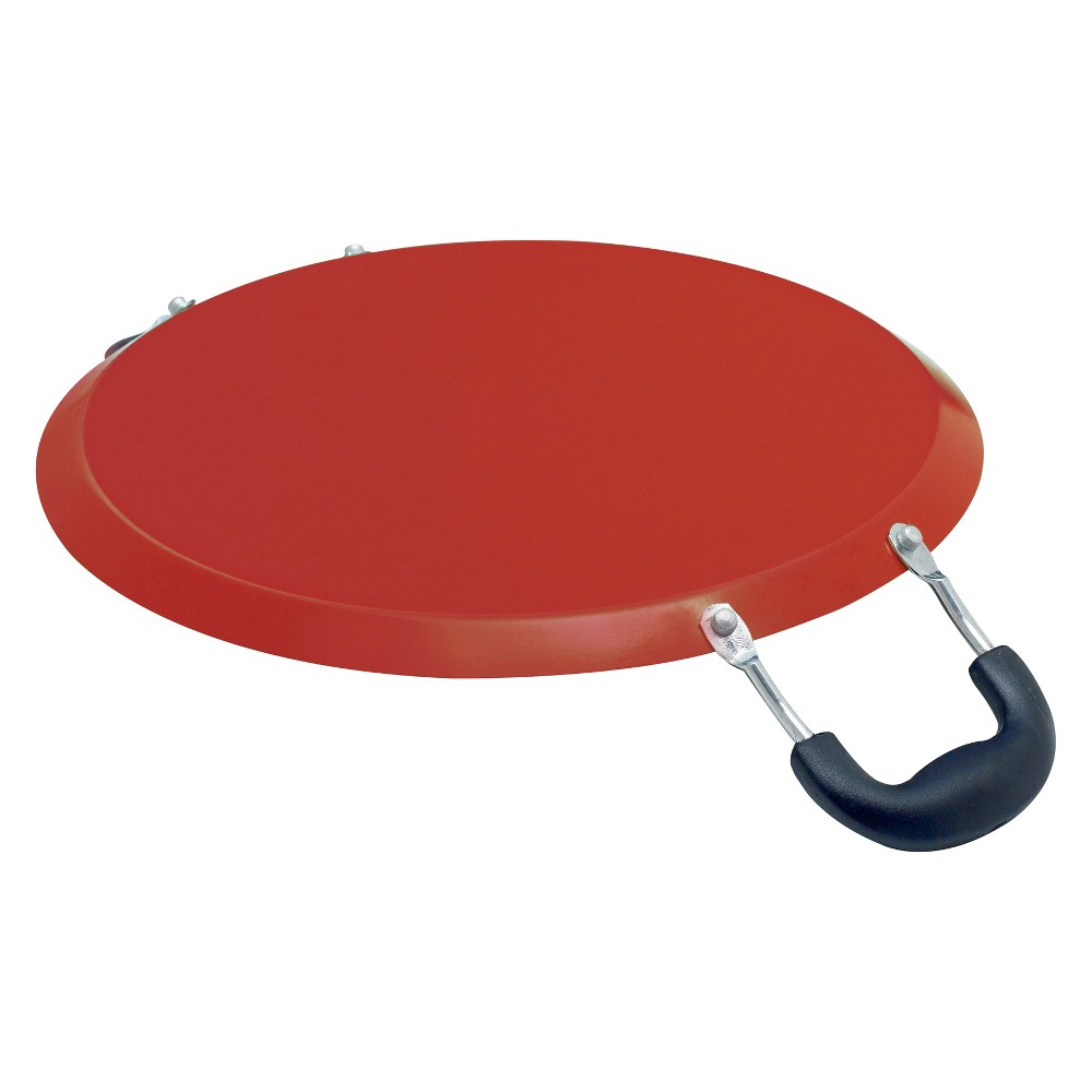 "Image of ""IMUSA 11"""" Round Nonstick Comal with Red Bottom"""