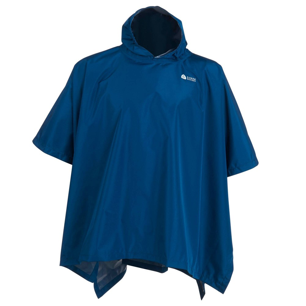 Image of Sierra Designs Youth Poncho - Blue
