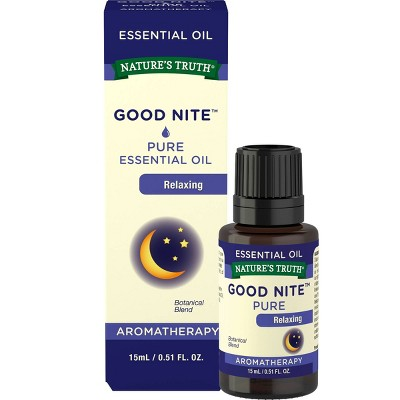 Nature's Truth Good Nite Aromatherapy Essential Oil Blend - 0.51 fl oz