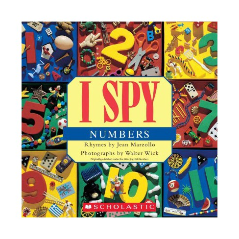 I Spy Numbers - by  Jean Marzollo (Paperback) - image 1 of 1