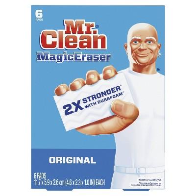 Mr. Clean Magic Eraser Original with Durafoam - 6ct