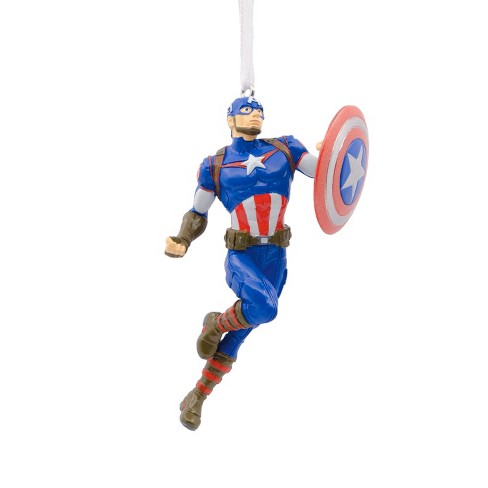 Hallmark Marvel Captain America Christmas Ornament - Hallmark Marvel Captain America Christmas Ornament : Target