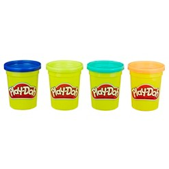 Play-Doh 4pk Modeling Compound Wild Colors