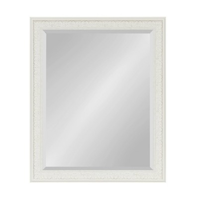 """27"""" x 33"""" Alysia Framed Wall Mirror White - Kate and Laurel"""