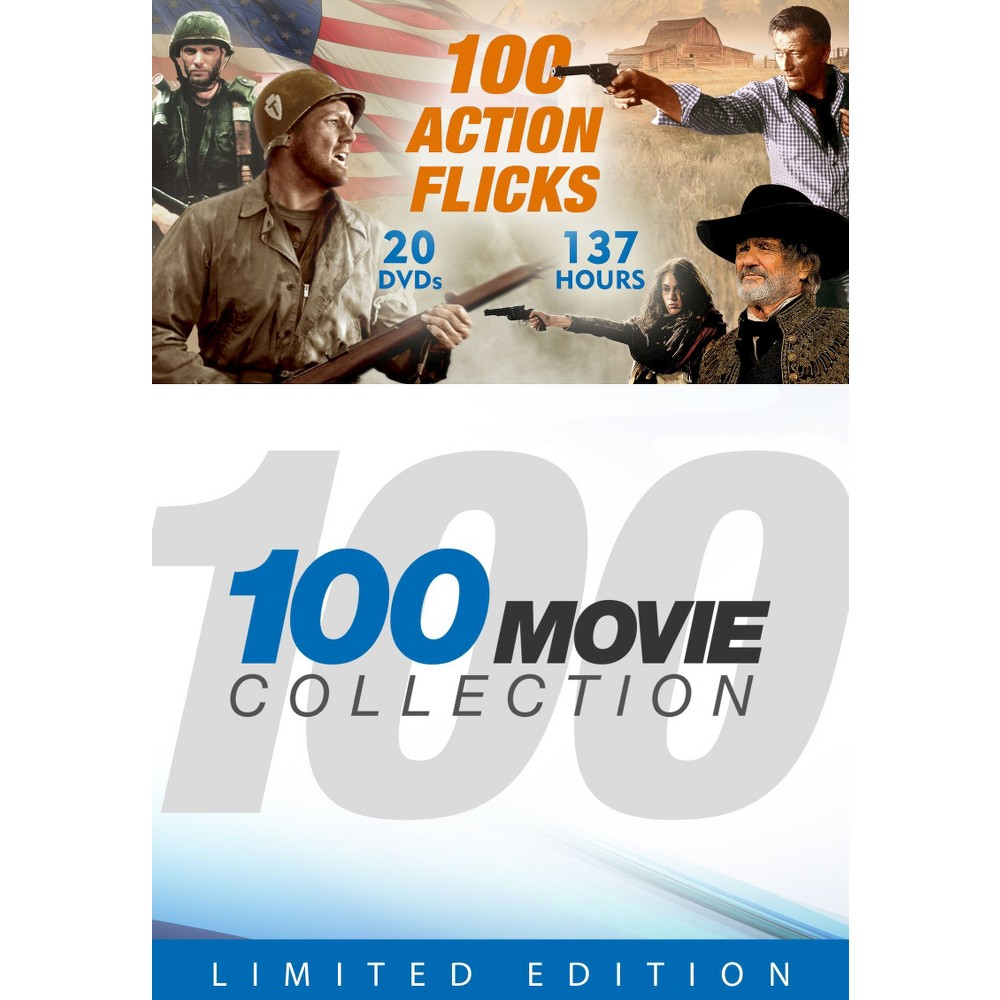 100 Movie Collection: 100 Action Flicks [20 Discs]