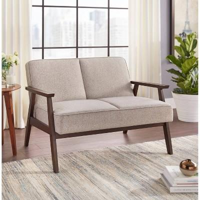Sonia Sofa & Loveseat Chair Ottoman Gray - Buylateral