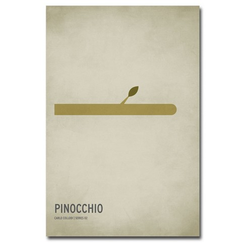 Pinocchio By Christian Jackson Ready To Hang Canvas Wall Art Target