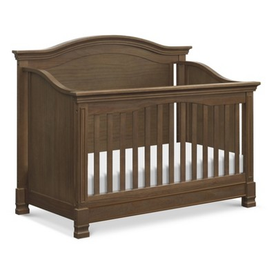 Million Dollar Baby Classic Louis 4-In-1 Convertible Crib With Toddler Bed Conversion Kit - Mocha