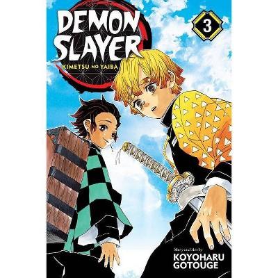 Demon Slayer: Kimetsu No Yaiba, Vol. 3, Volume 3 - by Koyoharu Gotouge (Paperback)