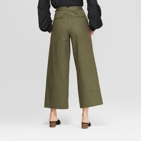 8727b1fe5189 Women's Mid-Rise Wide Leg Ankle Length Pants - Prologue™ : Target