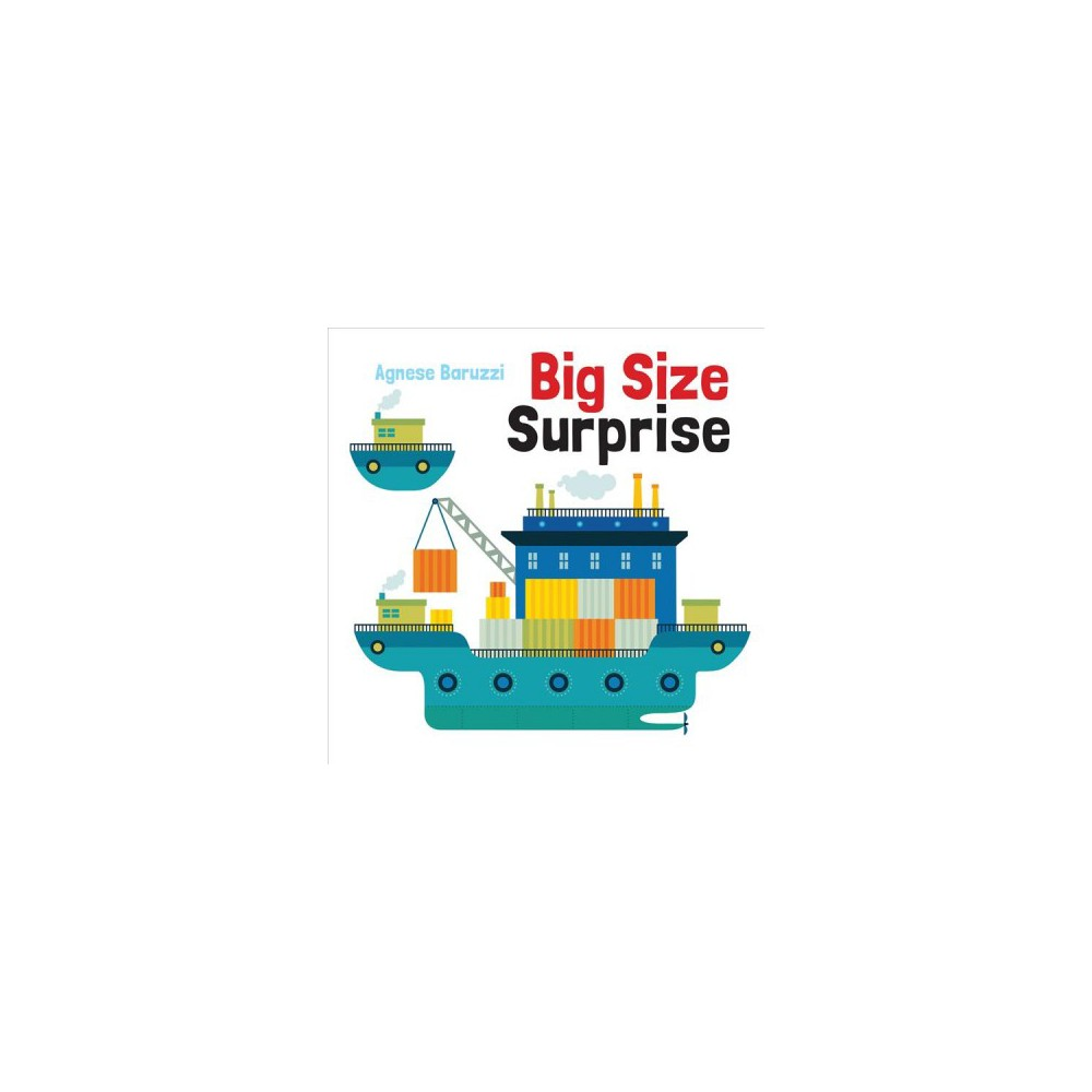 Big Size Surprise - by Agnese Baruzzi (Hardcover)
