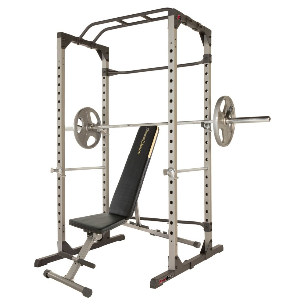 Fitness Reality 810XLT Super Max Power Cage/Bench Combo