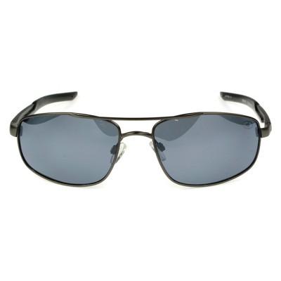 ac2eaf35683c0 Men s Ironman Polarized Aviator Sport Sunglasses - Gray   Target