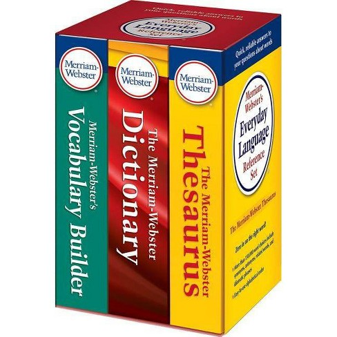 Merriam-Webster's Everyday Language Reference Set - (Paperback) - image 1 of 1