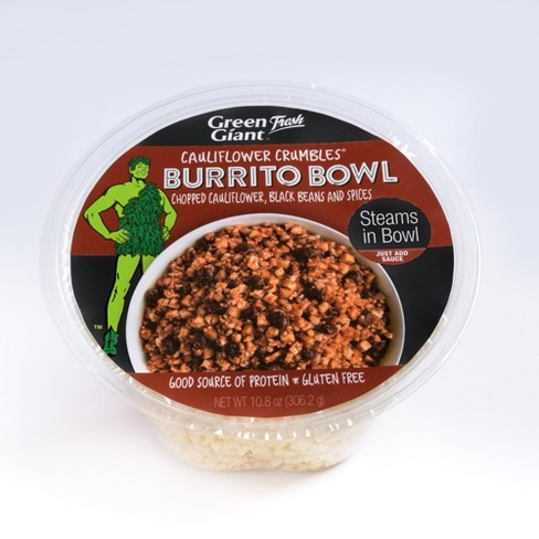 Green Giant Cauliflower Crumbles Burrito Bowl - 10.8oz - image 1 of 1