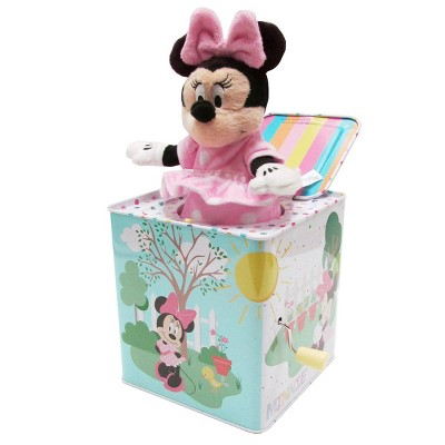 """Kids Preferred Minnie Mouse Jack-in-the-Box - Plays """"Somewhere Over the Rainbow"""""""