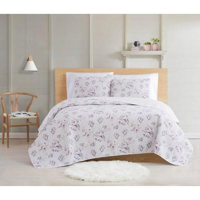 Cottage Classics Rose Dusk Quilt Set