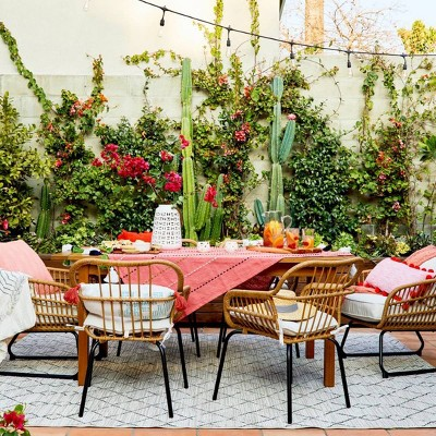 Outdoor Dining Room - Styled by Emily Henderson