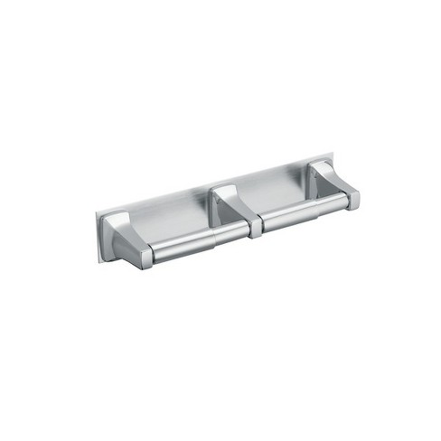 Moen R5580 In-Line Double Toilet Paper Holder from the Donner Commercial Collection - image 1 of 1