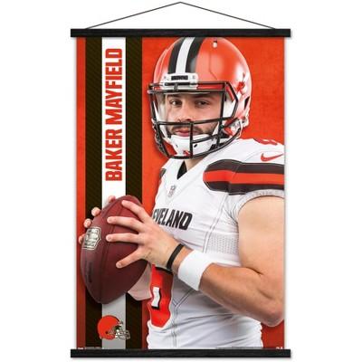 Trends International NFL Cleveland Browns - Baker Mayfield 18 Framed Wall Poster Prints