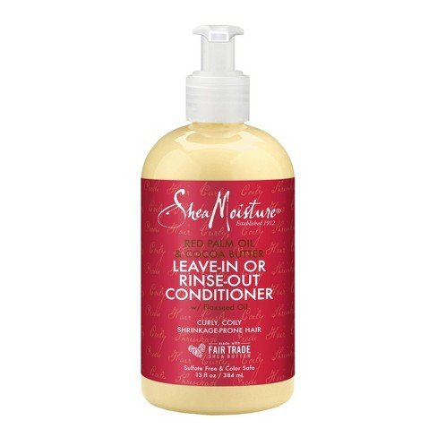 SheaMoisture Red Palm Oil & Cocoa Butter Rinse Out or Leave In Conditioner - 13 fl oz - image 1 of 4
