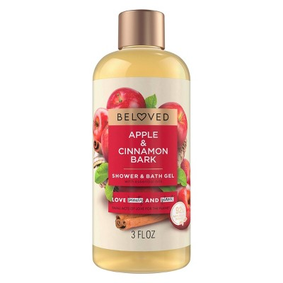 Beloved Apple & Cinnamon Bark Mini Shower Gels - 3 fl oz