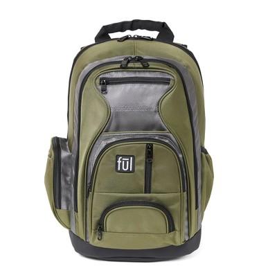 """FUL 18"""" Free Fallin"""" Backpack - Green"""