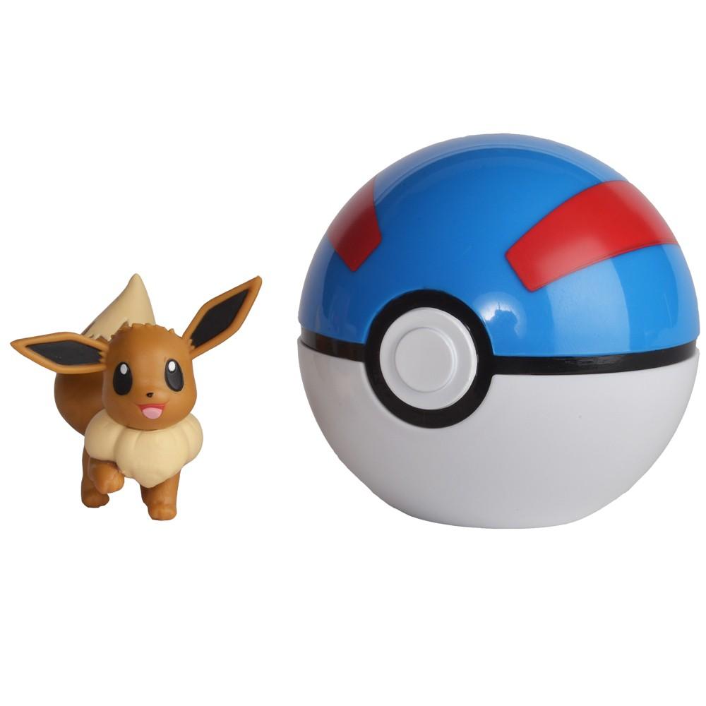 Pokemon Clip 'n' Go - Eevee - Great Ball