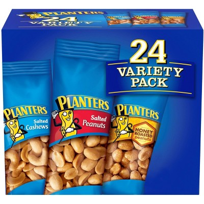 Planters Nuts Variety Pack - 8.5oz/24ct