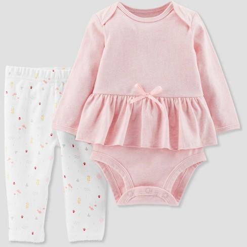 4ecd56da4 Baby Girls  3pc Skirt Set - Little Planet By Carter s Pink   Target