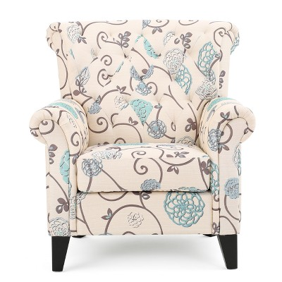 Merrit Tufted Club Chair - Christopher Knight Home