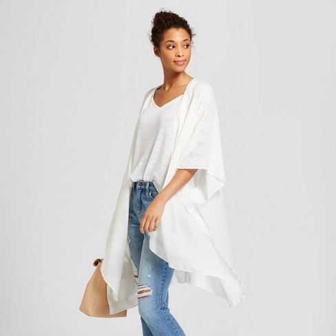 Women's Ruana Kimono Jackets - Universal Thread™ - image 1 of 2