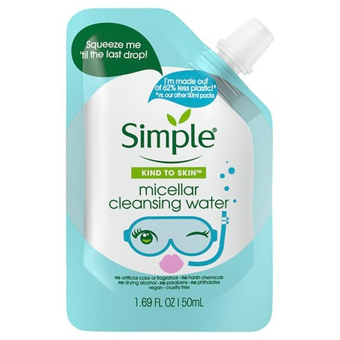 Simple Sassy Eco Friendly Pouch Micellar Water - 1.7 fl oz - image 1 of 4