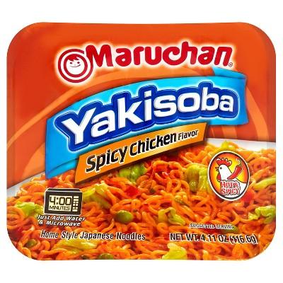 Maruchan Spicy Chicken noodles 4.11oz