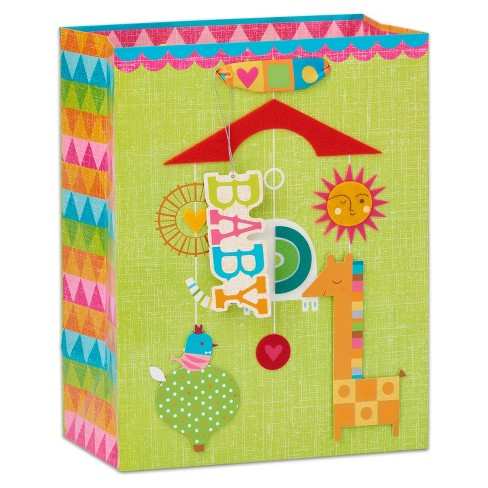 Papyrus Modern Baby Large Gift Bag - image 1 of 3