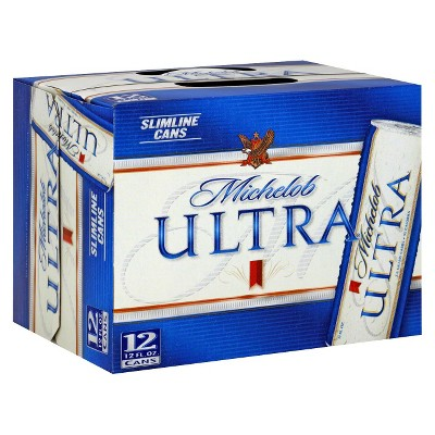 Michelob® Ultra Superior Light Beer - 12pk / 12oz Cans