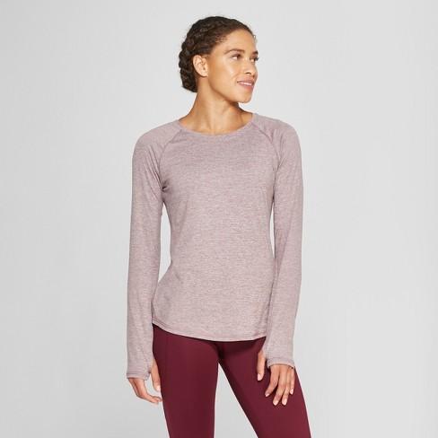 67665a2e Women's Long Sleeve T-Shirt - C9 Champion® Purple Thistle Heather S ...
