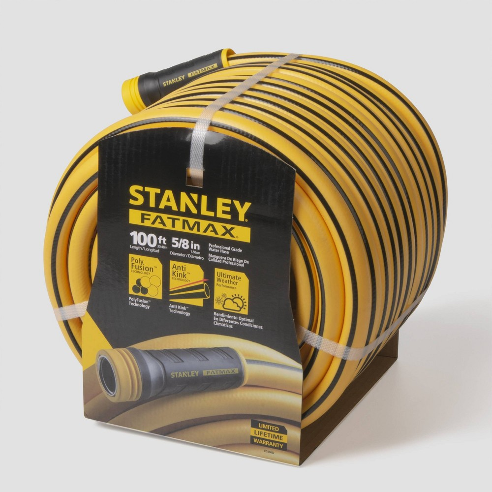 Image of 100' Fatmax Professional Grade Hose Yellow - Stanley