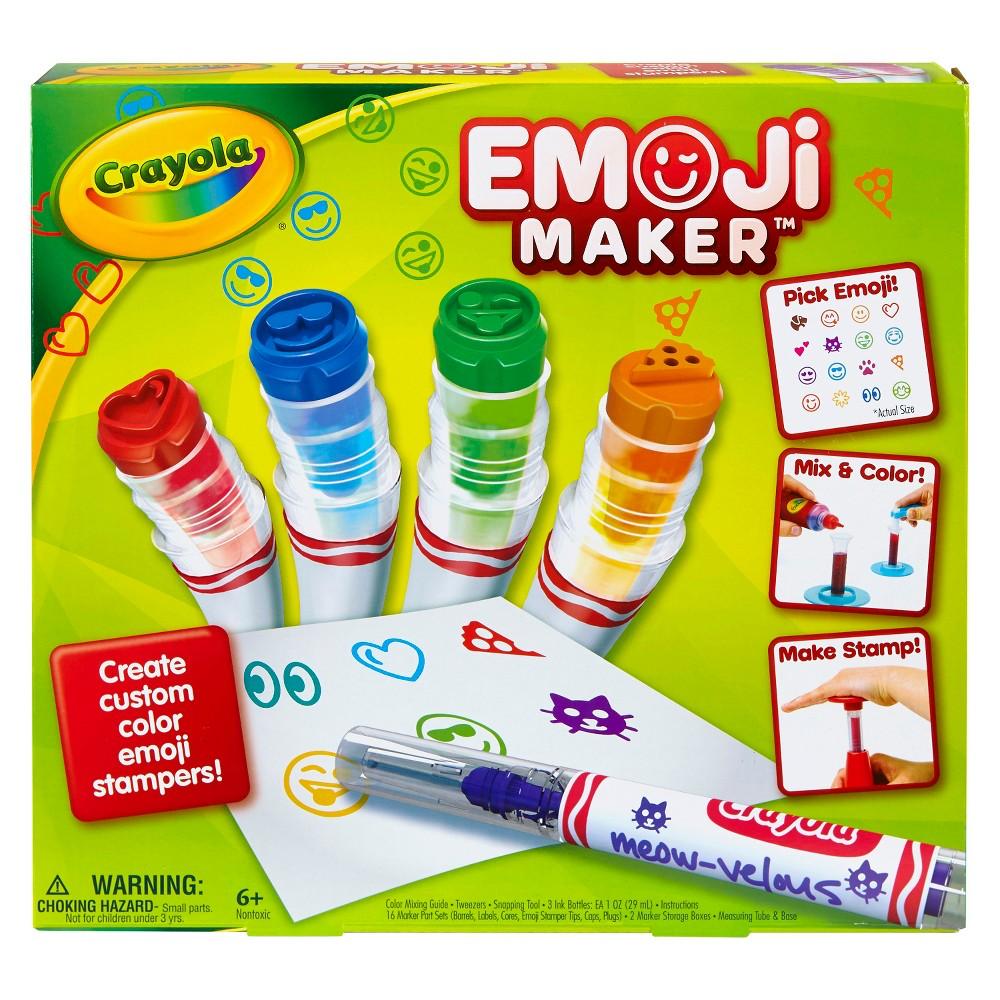 Crayola Emoji Maker Marker Kit, Multi-Colored