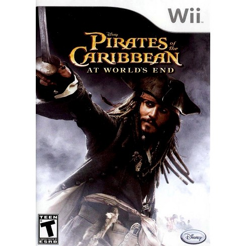 Wii Game WII PIRATES OF CARIB: AT WORLDS END - image 1 of 1
