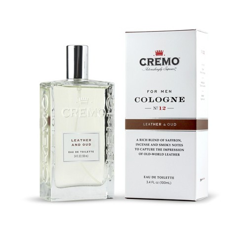 Cremo Leather & Oud Spray Cologne - 3.4 fl oz - image 1 of 5