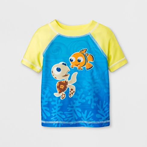 Baby Boys' Finding Nemo Rash Guard - Blue - image 1 of 1