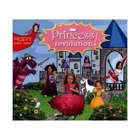 Moey's Music Party - Princess Revolution! (CD) - image 1 of 1