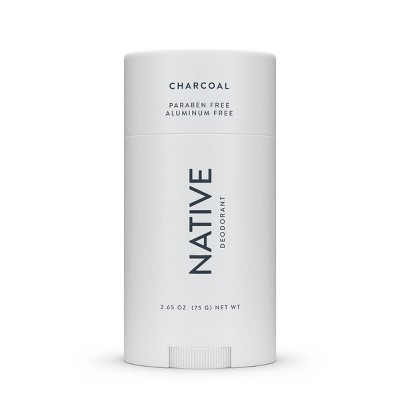 Native Charcoal Deodorant for Women - 2.65oz