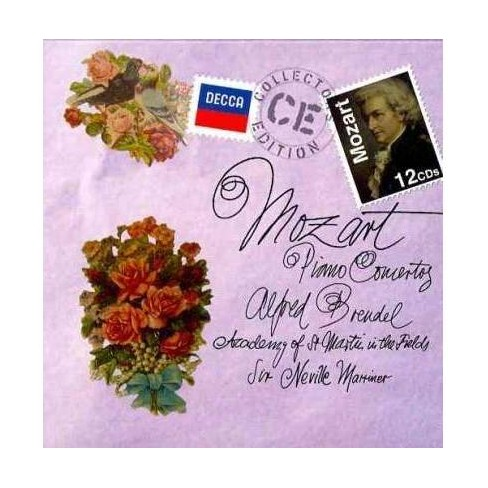 Academy Of St. Martin In The Fields - Mozart: Piano Concertos (CD) - image 1 of 1