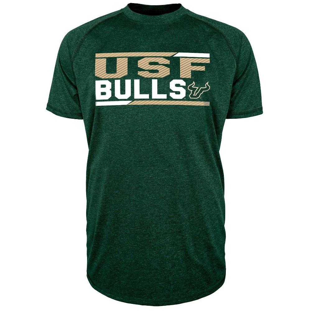 Ncaa South Florida Bulls Men 39 S Short Sleeve Performance T Shirt Xxl